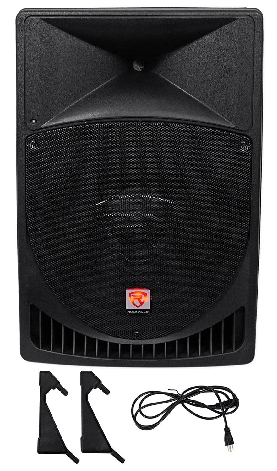 "Rockville RPG15 15"" Professional Powered Active 1,000 Watt 2-Way DJ PA Speaker"