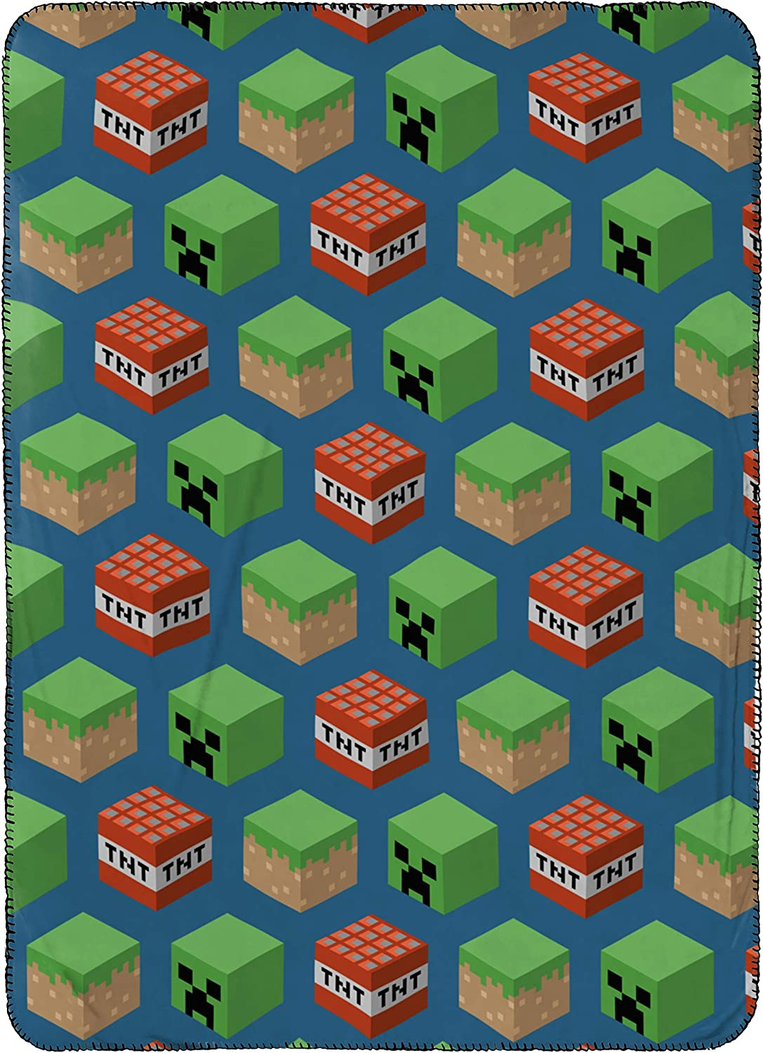 Jay Franco Kids Travel Blanket Minecraft