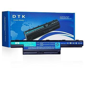 DTK AS10D31 AS10D51 AS10D41 AS10D75 AS10D81 AS10D73 AS10D71 AS10D3E AS10D56 Batería para Acer Aspire 5742 5750G 5742G 5750 5741G 5715z 5560 5336 ...