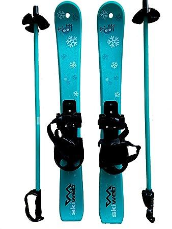 49c03e6ecfc6b3 Kinder Skis mit Skistocken - Alter 2 - 4  Amazon.de  Sport   Freizeit