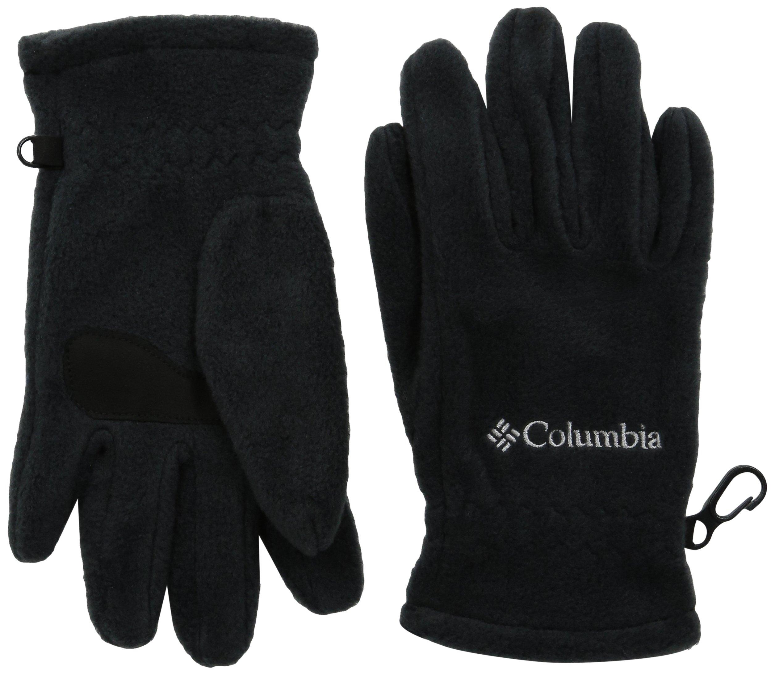 Columbia Big Boys' Youth Fast Trek Glove, Black, Medium