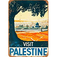 Hunnry Visit Palestine Poster Póster De Pared Metal