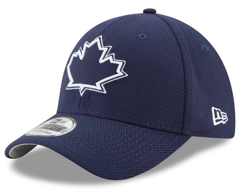 New Era Cap Company, Inc。Toronto Blue JaysフレックスフィットハットサイズS/MダイヤモンドEraキャップ – ネイビーブルー B07CNG35N8