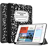 Fintie Case with Pencil Holder for iPad Mini 5 2019 - [SlimShell] Lightweight Soft TPU Back Protective Smart Stand Cover with