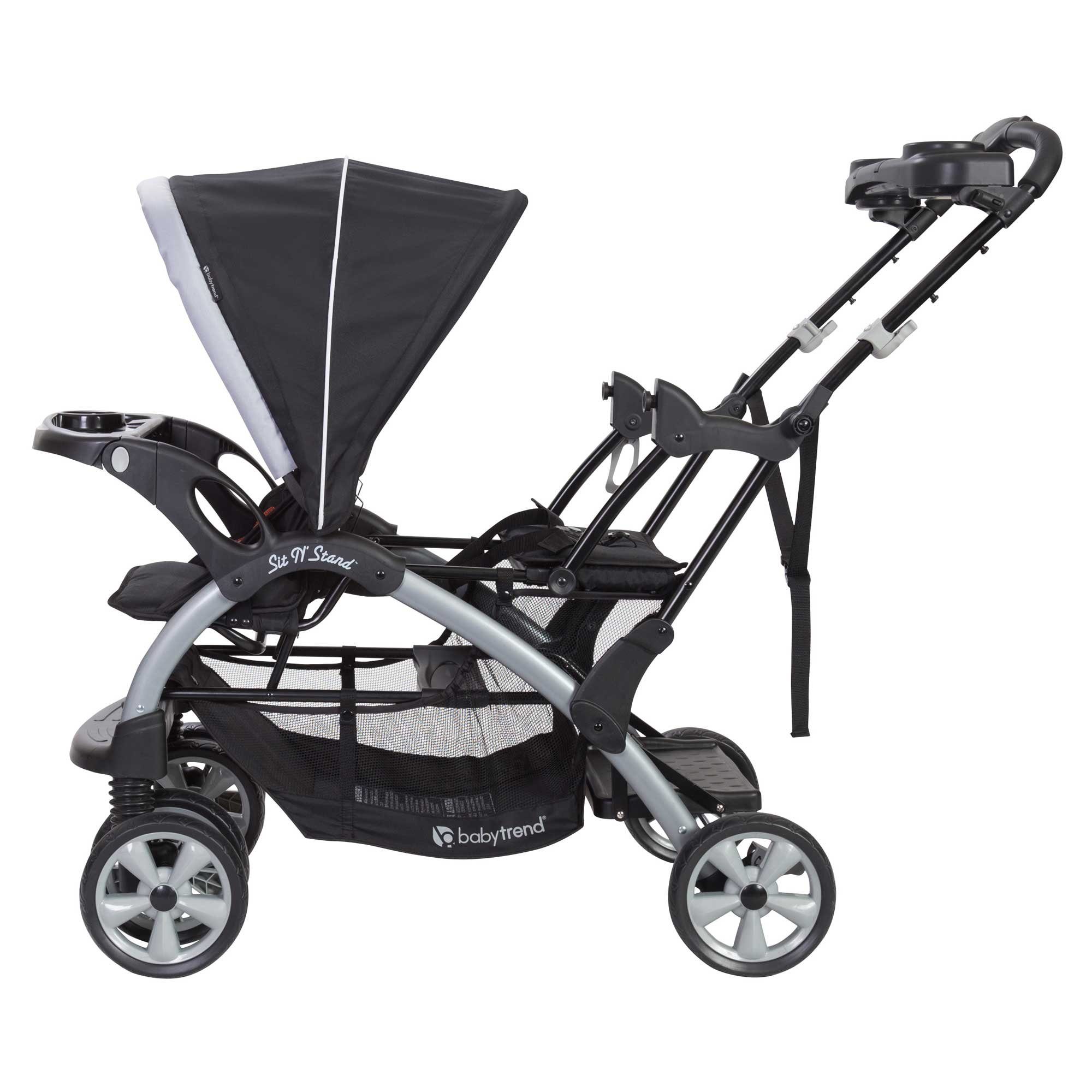 Baby Trend Sit N Stand Tandem Stroller + Infant Car Seat Travel System, Stormy by Baby Trend (Image #6)