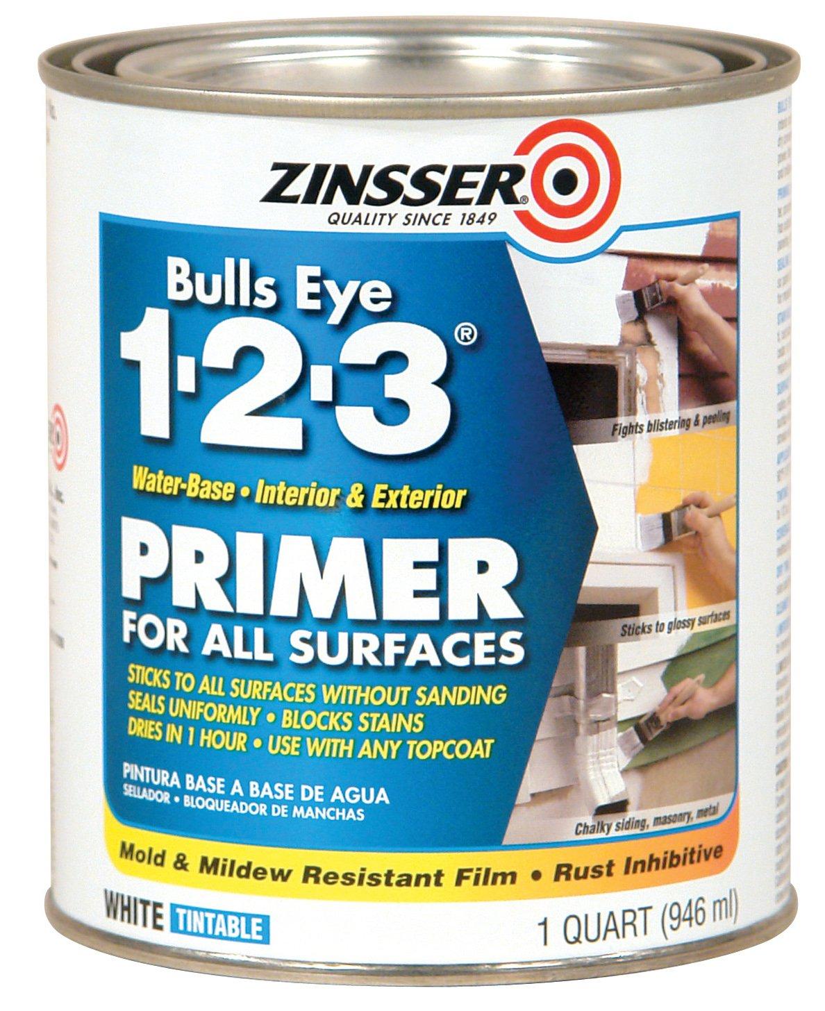 Rust-Oleum 286258 Zinsser Bulls Eye 1-2-3 Primer
