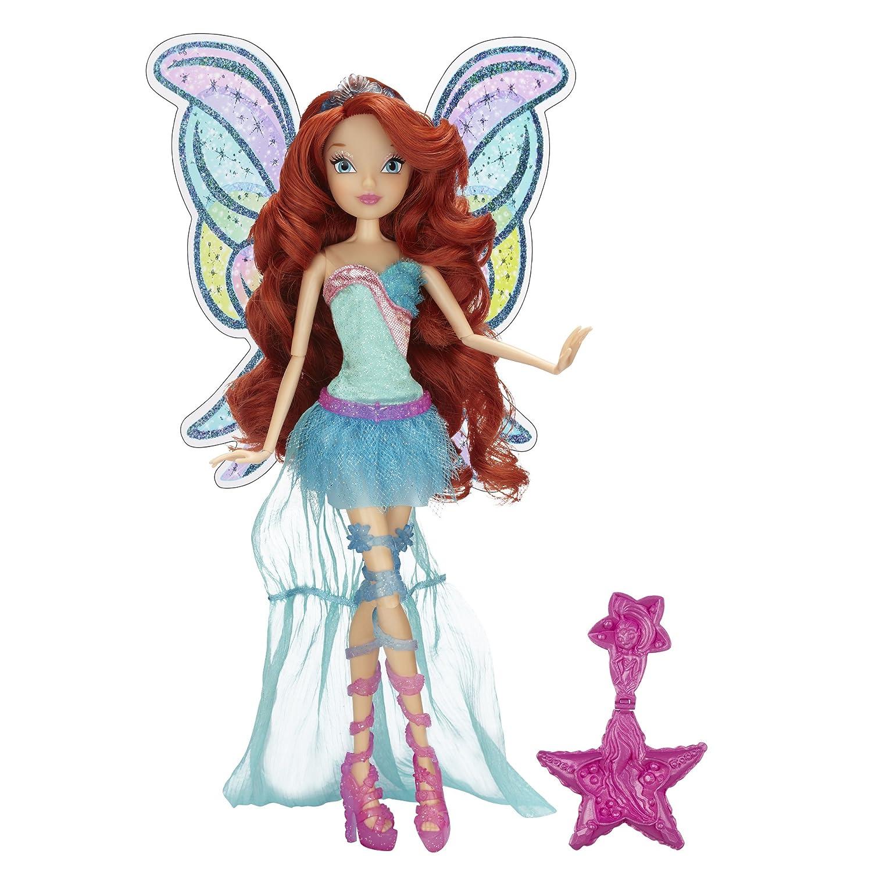 Winx Club Color Magic Sirenix bambola Bloom 28cm 2014 Rainbow