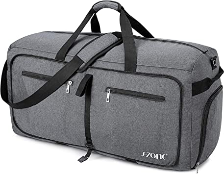 Marsh/_mell/_o Large Capacity Portable Luggage Bag Travel Lightweight Waterproof Storage Carry Luggage Duffel Tote Bag