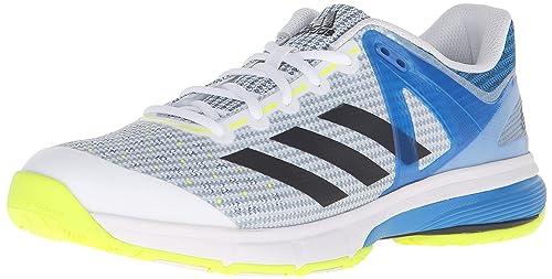 size 40 8273f 83c22 Adidas - Court Stabil 13 da Uomo, Bianco (WhiteBlackShock Blue