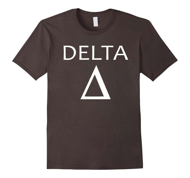 Delta Greek Symbol Tee Shirt Pl Polozatee
