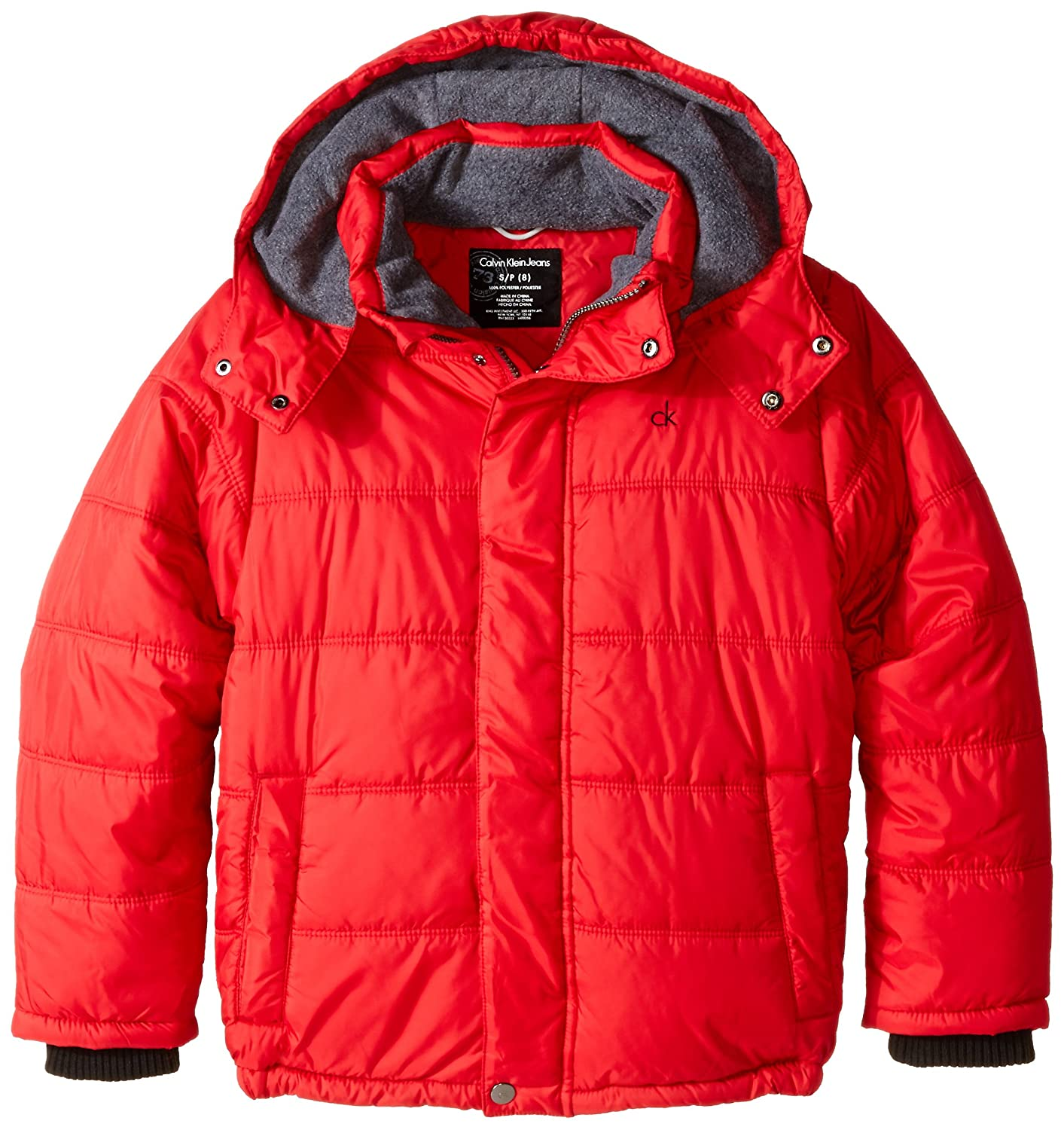 Calvin Klein Little Boys' Eclipse Short Bubble Jacket 35666005