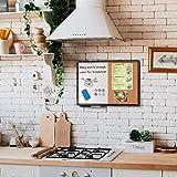 Combination White Board & Bulletin Cork Board 24