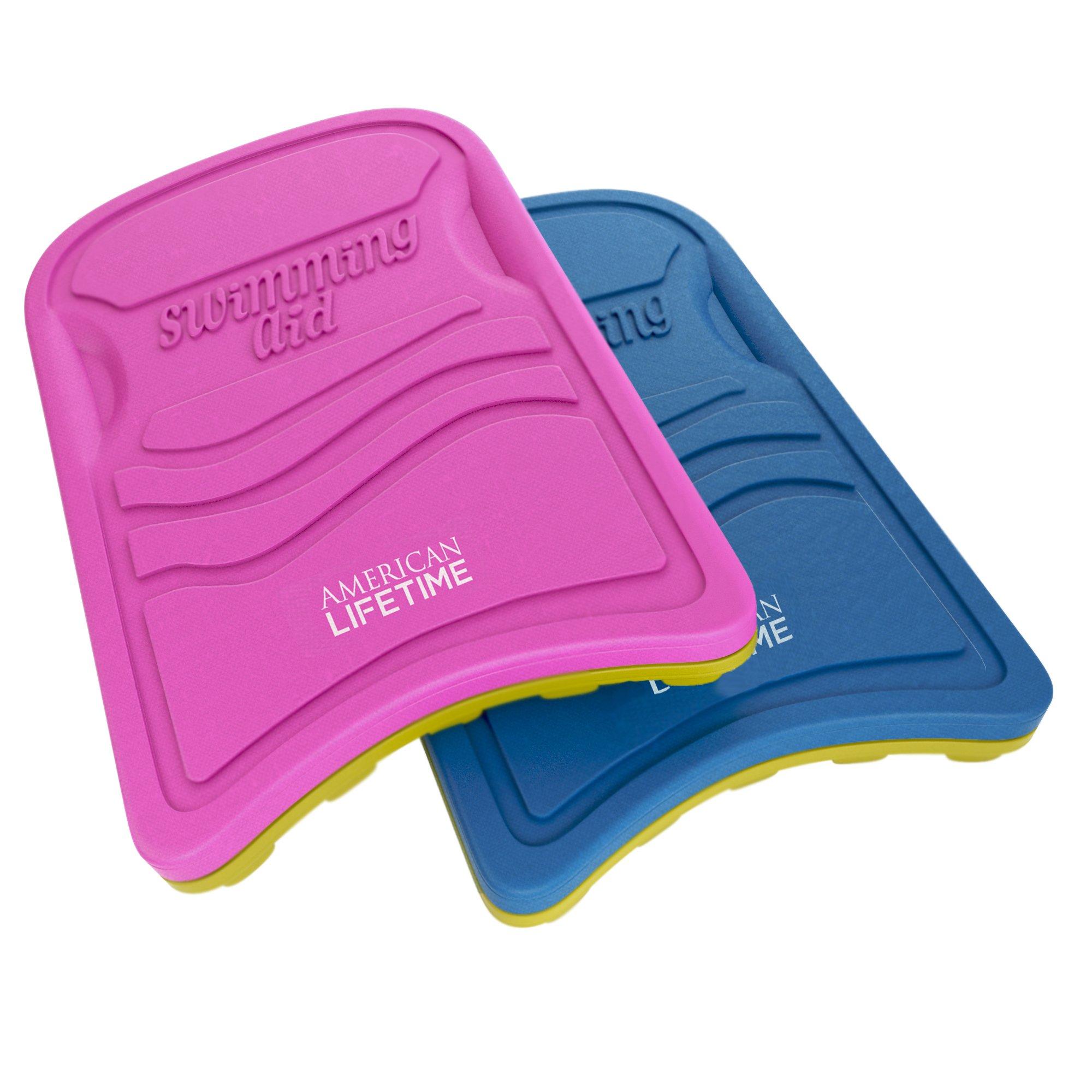 Kickboard - Lightweight Foam Swim Board - Swimming Training Aid for Adults and Kids, Pink