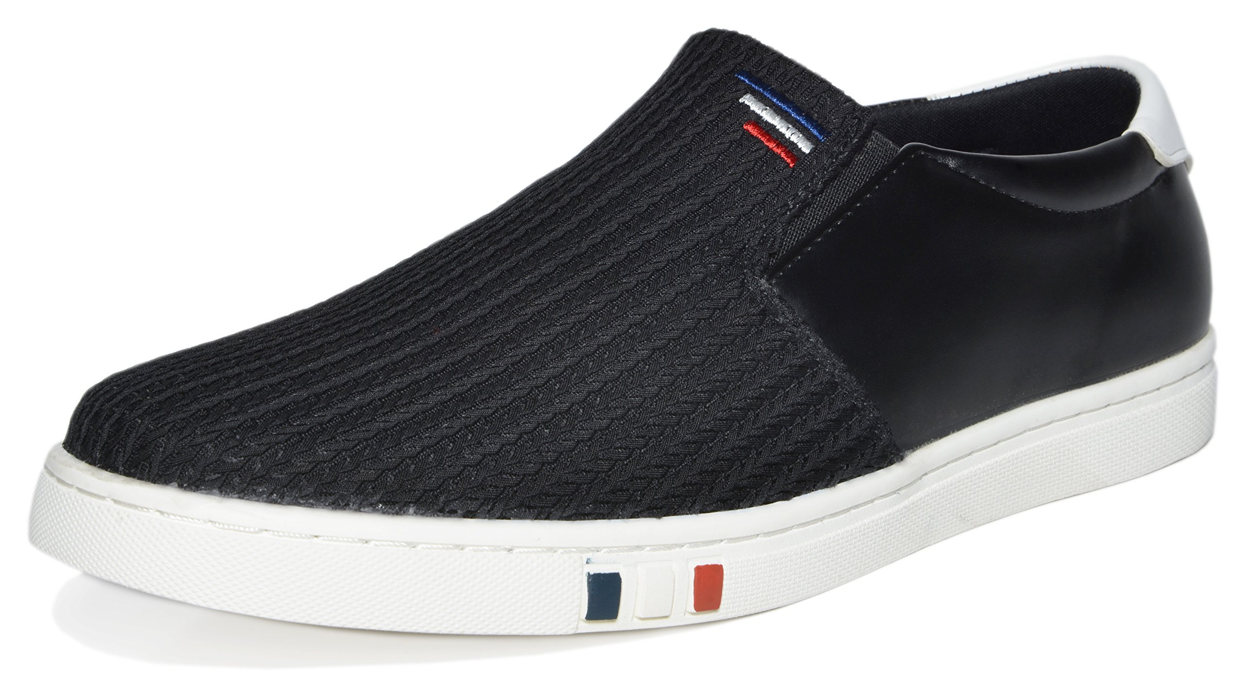 BRUNO MARC NEW YORK Men's NY-02 Black Penny Loafers Fashion Sneakers Size 11 M US