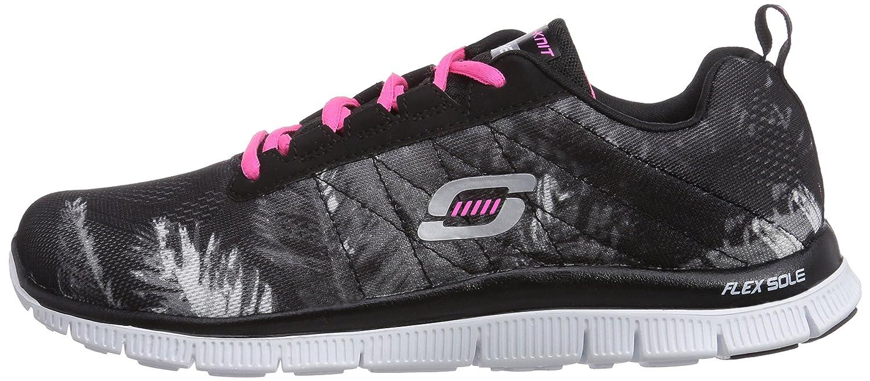 Trade Skechers Flex Noir Appeal Sneaker WindsChaussons Femme EIWD2H9