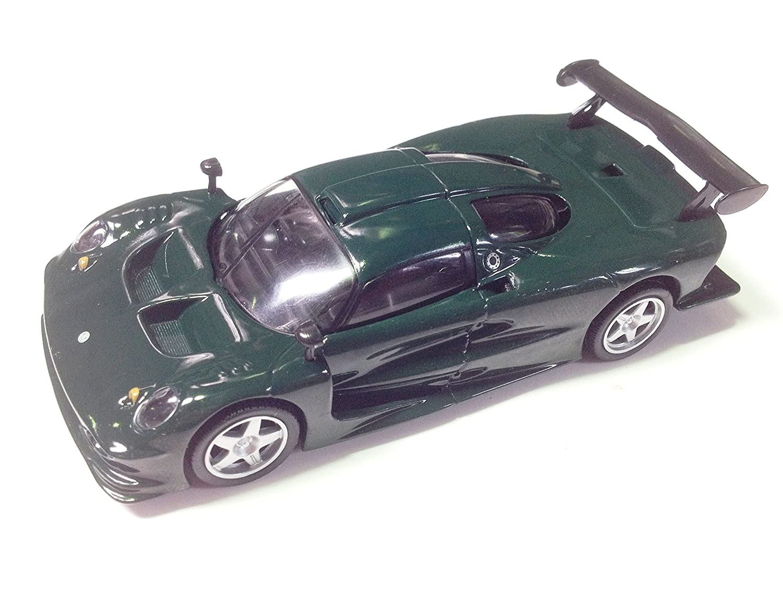 Gé né rique Lotus Elise GT1 Verte 1/43 Sport Car IXO pour DE AGOSTINI