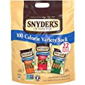 4-Pack Snyder's of Hanover 19.8 Ounce 100 Calorie Packs Variety Pretzels