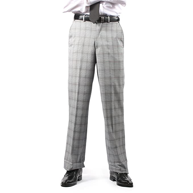 1920s Style Men's Pants & Plus Four Knickers Mens Dress Pants  AT vintagedancer.com