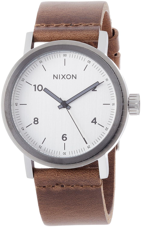[ニクソン]NIXON 腕時計 STARK LEATHER NA11942092-00 【正規輸入品】 B075ZZHXMH