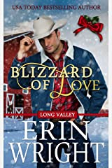 Blizzard of Love: A Western Holiday Romance Novella (Long Valley Romance Book 2) Kindle Edition