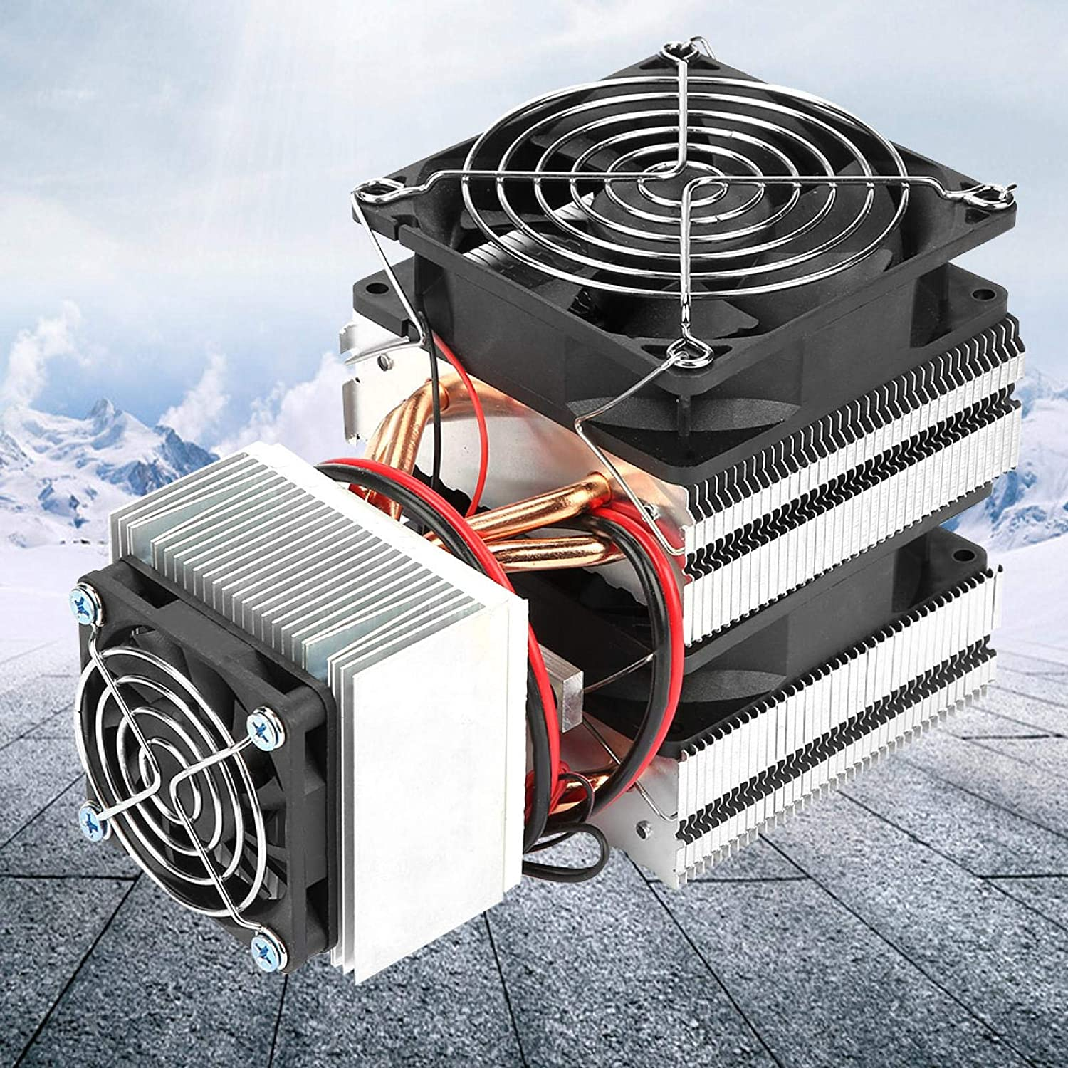 for Small Fridge Office Home Mini Air Conditioner Device Cooling Semiconductor Refrigeration System Refrigeration Cooling System Semiconductor Cooler