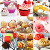 WARMWIND Silicone Muffin Cups, Food Grade Cupcake