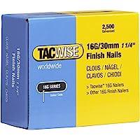 Tacwise 0293 Verzinkt nagels (16 g/30 mm, 2.500 stuks per verpakking)