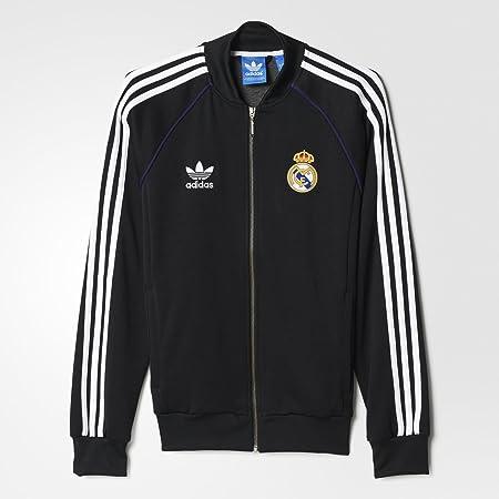 Adidas Originals Real Madrid Superstar Track Top: Amazon.es: Deportes y aire libre