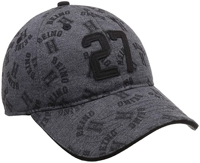 d1132e78f755 Being Human Men s Baseball Cap (BHMC7822 Charcoal Fs)  Amazon.in  Clothing    Accessories