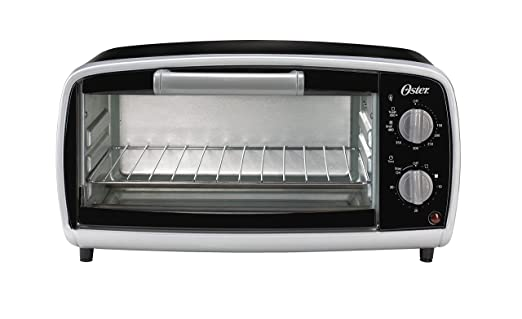 Oster TSSTTVVG01 4-Slice Toaster Oven, Black TSSTTVVG01