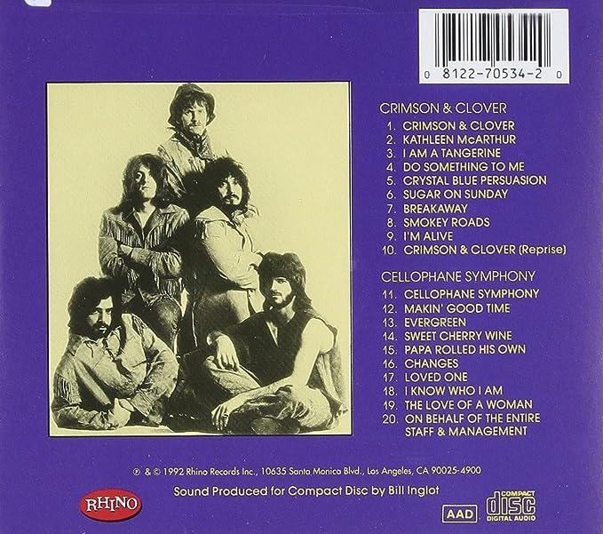 Crimson Clovercellophane Symphony Tommy James The Shondells
