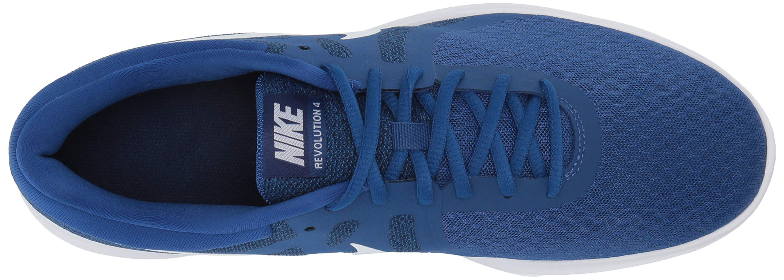 Nike Men's Revolution 4 Running Shoe, Indigo Force/White-Blue Void, 6 Regular US