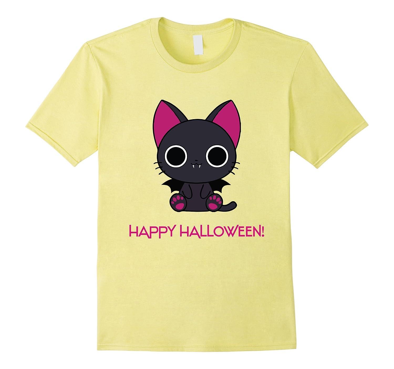 Anime cat shirt Halloween shirt-CL