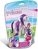 Playmobil - 6167 - Princesse Violette avec cheval  coiffer