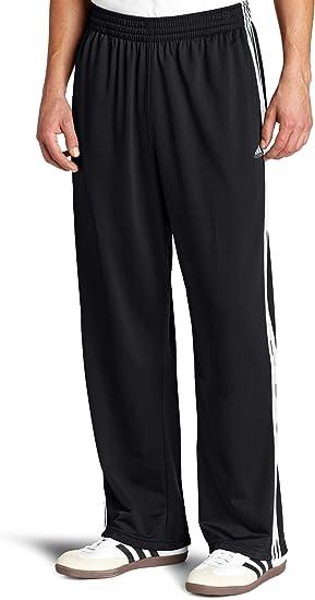 plan de estudios tal vez lado  Amazon.com : adidas Men's 3-Stripe Tricot Pant, Black/White, 5X-Tall :  Apparel : Clothing