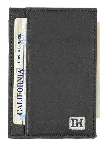 42997f1f21744 Mens Wallets - Credit Card Holder Front Pocket Wallets for Men - Thin Slim  Leather Wallets