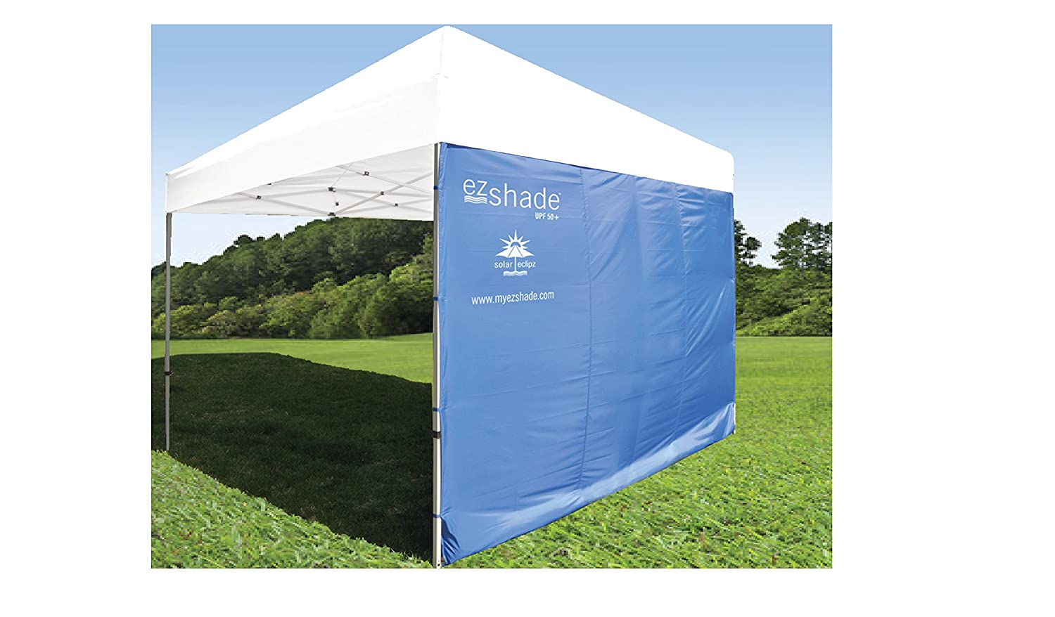 amazoncom superior sun protection ezshade canopy sunshield blocks 99 uvauvb rays doubles shade keeps you cooler and instantly attaches to any - U Shape Canopy 2015