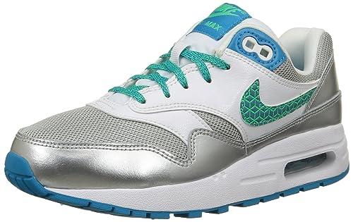 Nike Air MAX 1 (GS), Zapatillas de Running para Niñas