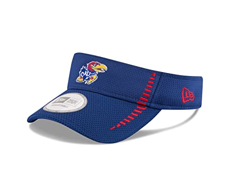 New Era NCAA Kansas Jayhawks Adult NE Speed Visor One Size Royal