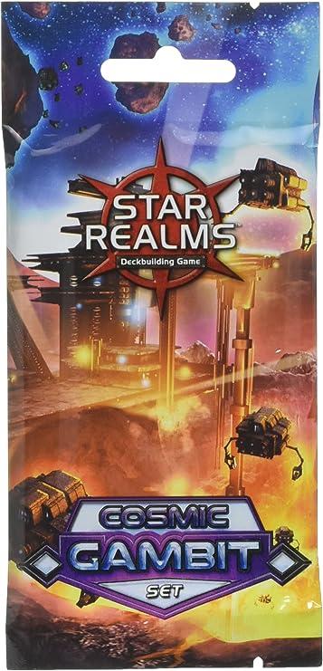 Star Realms - Paquete de expansión de cósmica Gambit: Amazon.es: Juguetes y juegos