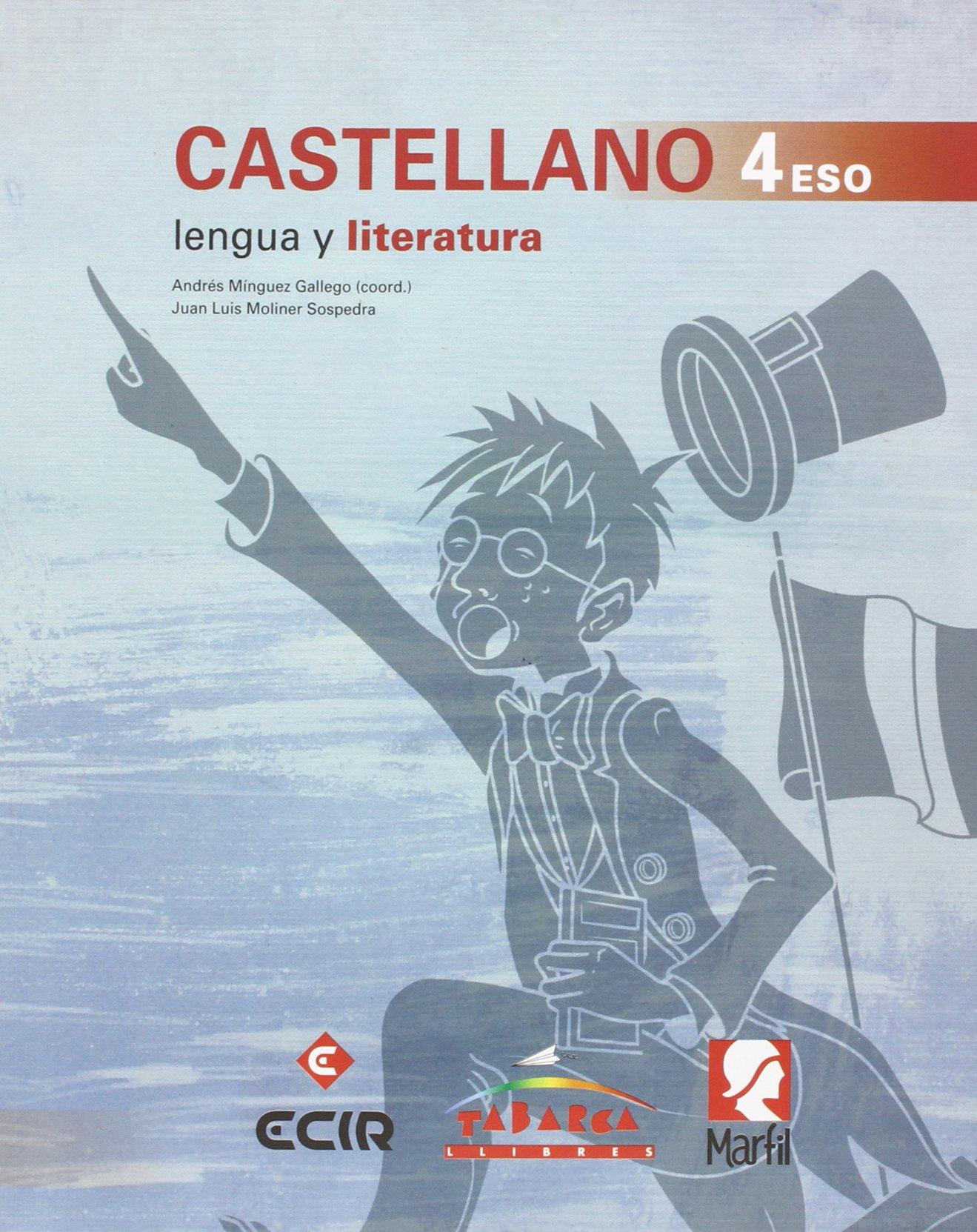 Lengua Española Y Literatura 4º 2 libros - 9788480253604: Amazon.es: Mínguez, Andrés, Moliner, Juan Luis, García, Oriol: Libros
