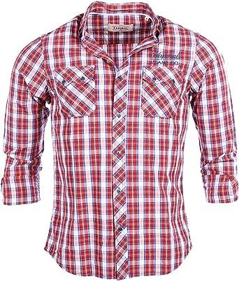 KAPORAL Camisa Bush Rojo Granate XXXL: Amazon.es: Ropa y accesorios