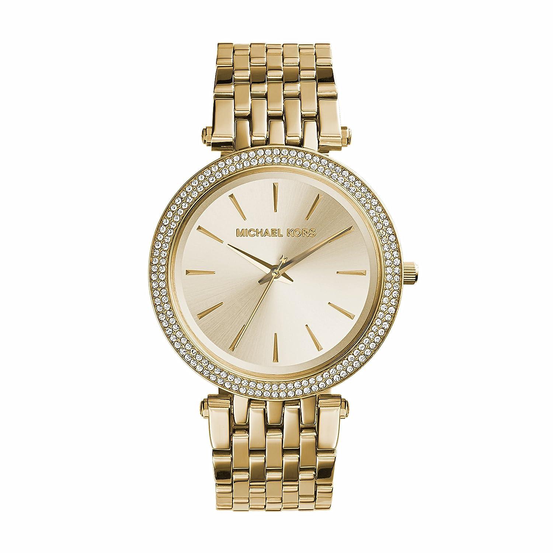 Amazon.com: Michael Kors Women\u0027s Darci Gold-Tone Watch MK3191: Michael Kors:  Watches