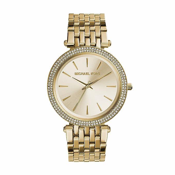 Damenuhren michael kors gold  Michael Kors Damen-Uhren MK3191: Michael Kors: Amazon.de: Uhren