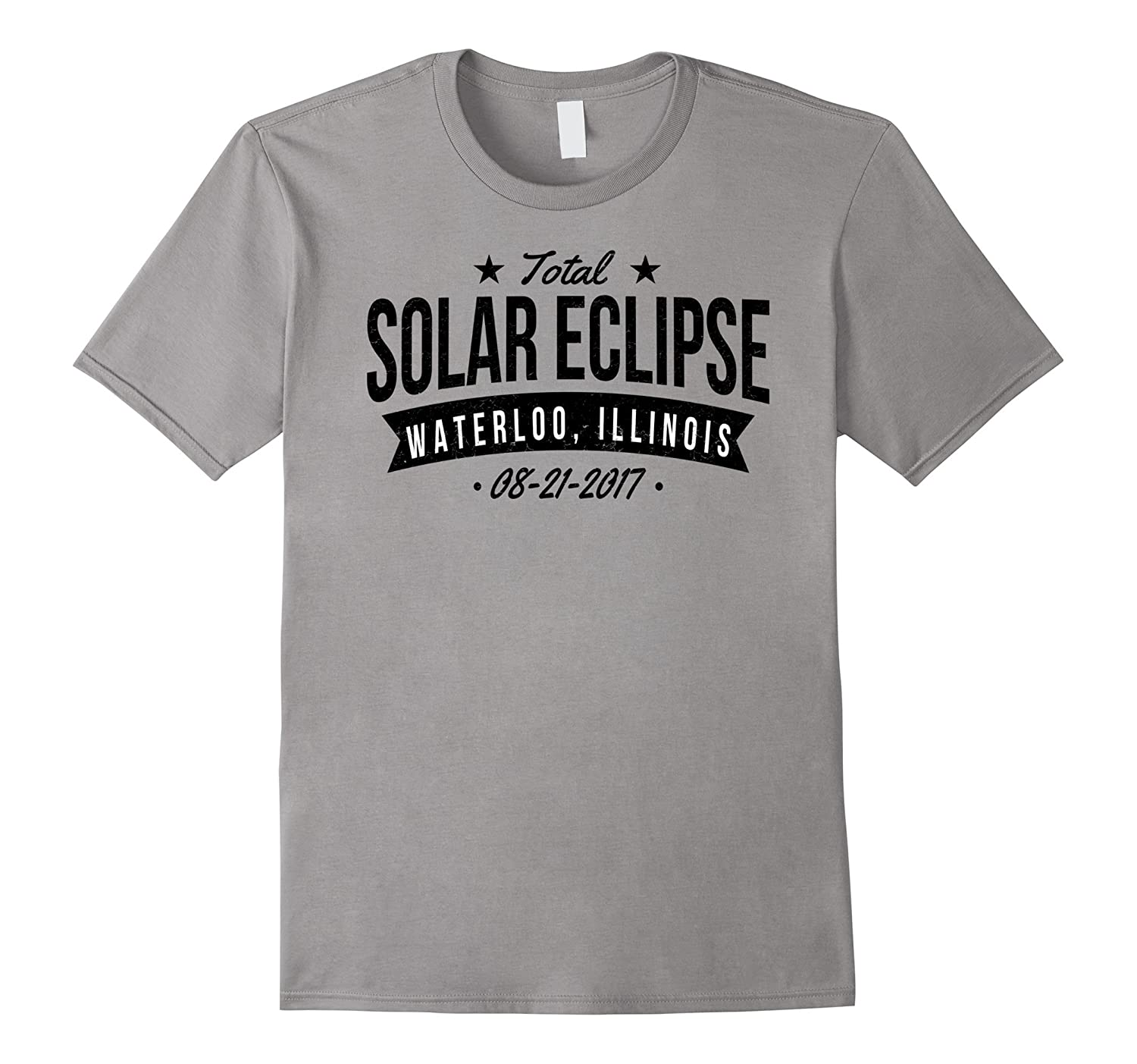 Solar Eclipse Waterloo IL August 2017 Gift T-Shirt