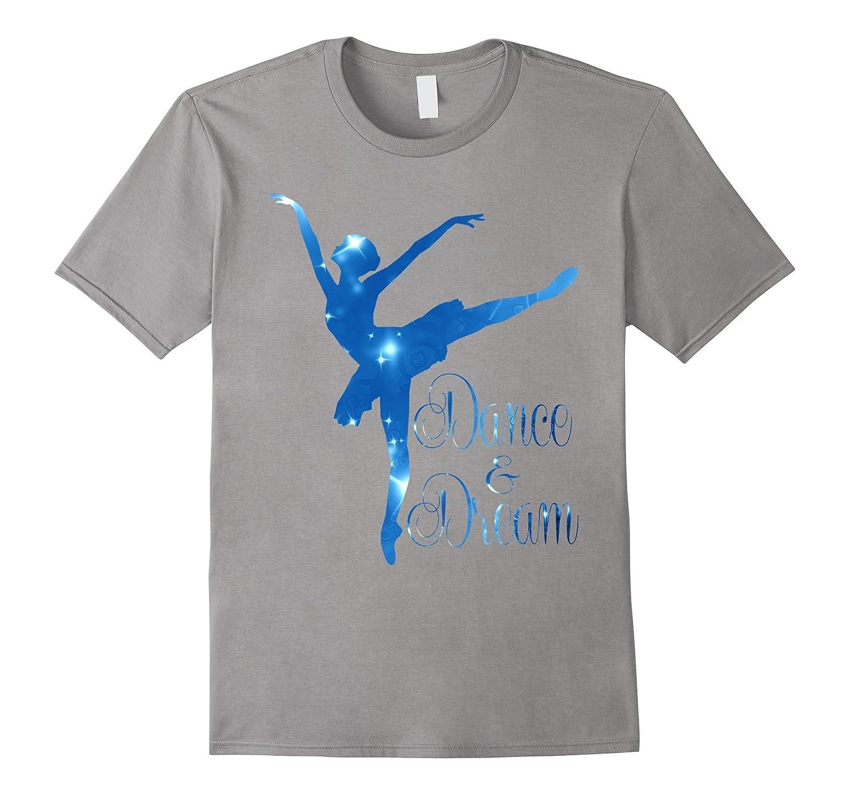 Dance  Dream Ballerina Ballet Dancer Novelty T Shirt Top-CD
