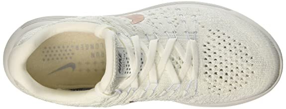 best loved e77bc 04cb2 Amazon.com   Nike Womens Lunarepic Low Fk 2X-Plore Fabric Hight Top Lace  Up, White, Size 8.0   Shoes