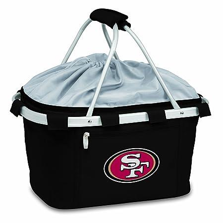 NFL San Francisco 49ers Metro Insulated Basket, Black