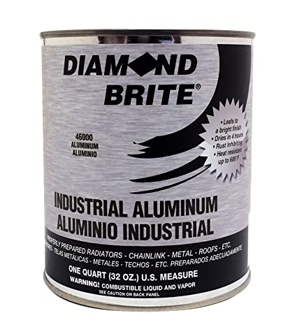 Diamond Brite Paint 46000 1 Quart Aluminum Paint