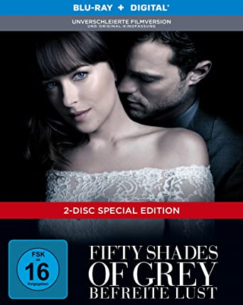 Fifty Shades Of Grey Befreite Lust Limited Digibook Blu Ray